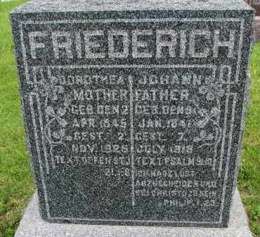 FRIEDERICH, DOROTHEA - Hutchinson County, South Dakota | DOROTHEA FRIEDERICH - South Dakota Gravestone Photos