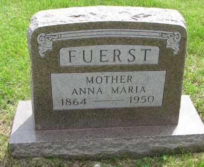 FUERST, ANNA MARIA - Hutchinson County, South Dakota | ANNA MARIA FUERST - South Dakota Gravestone Photos