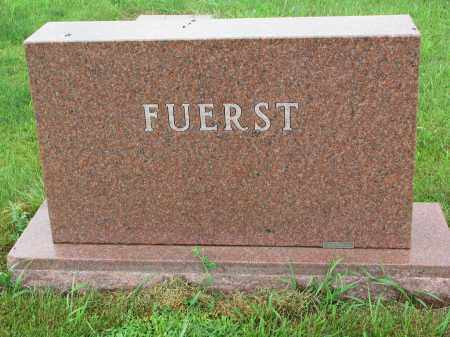 FUERST, FAMILY MARKER - Hutchinson County, South Dakota | FAMILY MARKER FUERST - South Dakota Gravestone Photos