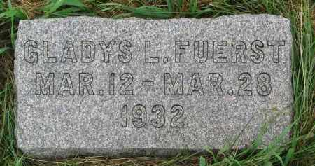 FUERST, GLADYS L - Hutchinson County, South Dakota | GLADYS L FUERST - South Dakota Gravestone Photos