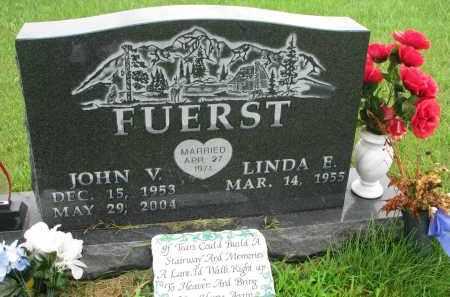 FUERST, JOHN V - Hutchinson County, South Dakota | JOHN V FUERST - South Dakota Gravestone Photos