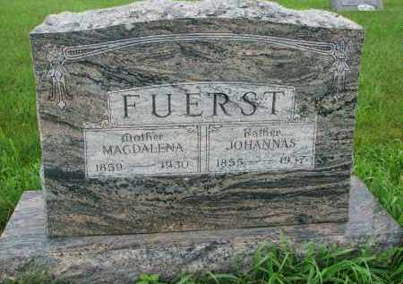 FUERST, MAGDALENA - Hutchinson County, South Dakota | MAGDALENA FUERST - South Dakota Gravestone Photos