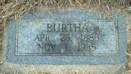 FUNKE, BURTHA - Hutchinson County, South Dakota   BURTHA FUNKE - South Dakota Gravestone Photos