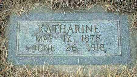 FUNKE, KATHARINE - Hutchinson County, South Dakota | KATHARINE FUNKE - South Dakota Gravestone Photos