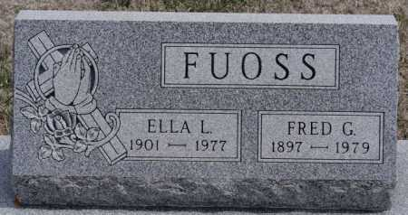 FUOSS, ELLA L - Hutchinson County, South Dakota | ELLA L FUOSS - South Dakota Gravestone Photos
