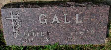 GALL, LEONA - Hutchinson County, South Dakota | LEONA GALL - South Dakota Gravestone Photos