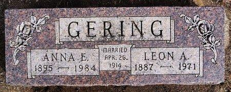 GERING, LEOAN A - Hutchinson County, South Dakota | LEOAN A GERING - South Dakota Gravestone Photos