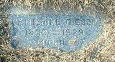 GIESEN, CATHERINE - Hutchinson County, South Dakota | CATHERINE GIESEN - South Dakota Gravestone Photos