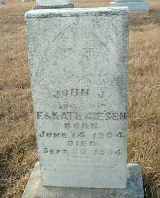 GIESEN, JOHN - Hutchinson County, South Dakota | JOHN GIESEN - South Dakota Gravestone Photos