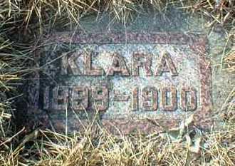 GIESEN, KLARA - Hutchinson County, South Dakota   KLARA GIESEN - South Dakota Gravestone Photos