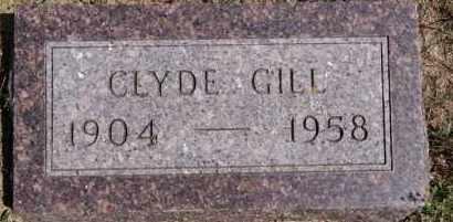 GILL, CLYDE - Hutchinson County, South Dakota | CLYDE GILL - South Dakota Gravestone Photos