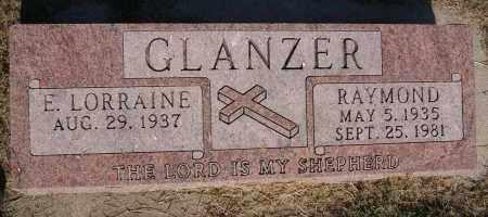 GLANZER, RAYMOND - Hutchinson County, South Dakota | RAYMOND GLANZER - South Dakota Gravestone Photos