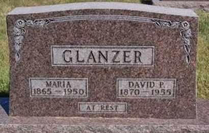 GLANZER, DAVID P - Hutchinson County, South Dakota | DAVID P GLANZER - South Dakota Gravestone Photos