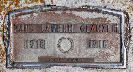 GLANZER, PAUL LAVERN - Hutchinson County, South Dakota | PAUL LAVERN GLANZER - South Dakota Gravestone Photos