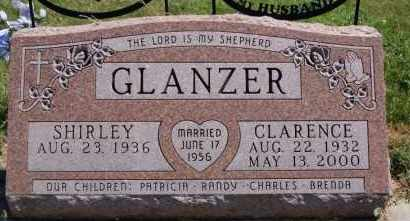 GLANZER, CLARENCE - Hutchinson County, South Dakota   CLARENCE GLANZER - South Dakota Gravestone Photos