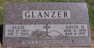 GLANZER, SUSIE - Hutchinson County, South Dakota | SUSIE GLANZER - South Dakota Gravestone Photos