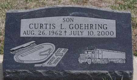 GOEHRING, CURTIS L - Hutchinson County, South Dakota   CURTIS L GOEHRING - South Dakota Gravestone Photos