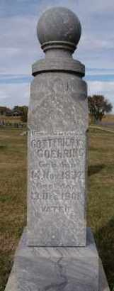 GOEHRING, GOTTFRIEDT - Hutchinson County, South Dakota | GOTTFRIEDT GOEHRING - South Dakota Gravestone Photos