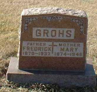 GROHS, MARY - Hutchinson County, South Dakota | MARY GROHS - South Dakota Gravestone Photos