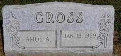 GROSS, AMOS A - Hutchinson County, South Dakota | AMOS A GROSS - South Dakota Gravestone Photos