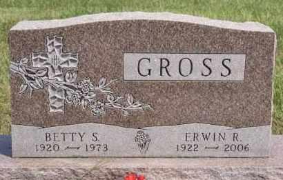 GROSS, ERWIN R - Hutchinson County, South Dakota   ERWIN R GROSS - South Dakota Gravestone Photos