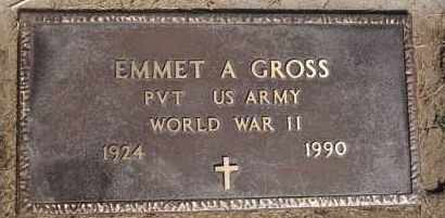 GROSS, EMMET A (WWII) - Hutchinson County, South Dakota | EMMET A (WWII) GROSS - South Dakota Gravestone Photos