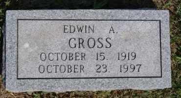 GROSS, EDWIN A - Hutchinson County, South Dakota | EDWIN A GROSS - South Dakota Gravestone Photos