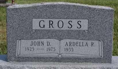 GROSS, ARDELLA R - Hutchinson County, South Dakota | ARDELLA R GROSS - South Dakota Gravestone Photos