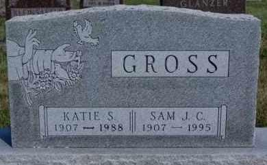 GROSS, KATIE S - Hutchinson County, South Dakota | KATIE S GROSS - South Dakota Gravestone Photos