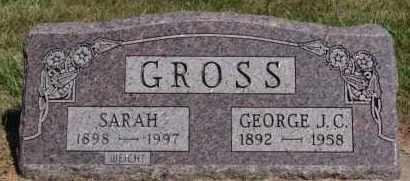 GROSS, SARAH - Hutchinson County, South Dakota | SARAH GROSS - South Dakota Gravestone Photos