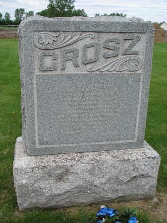 GROSZ, FAMILY PLOT MARKER - Hutchinson County, South Dakota | FAMILY PLOT MARKER GROSZ - South Dakota Gravestone Photos