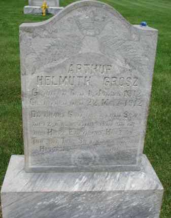 GROSZ, ARTHUR HELMUTH - Hutchinson County, South Dakota   ARTHUR HELMUTH GROSZ - South Dakota Gravestone Photos