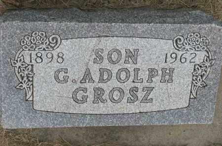 GROSZ, G. ADOLPH - Hutchinson County, South Dakota | G. ADOLPH GROSZ - South Dakota Gravestone Photos