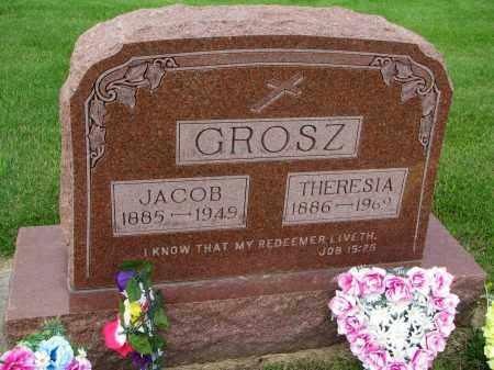 GROSZ, THERESIA - Hutchinson County, South Dakota   THERESIA GROSZ - South Dakota Gravestone Photos