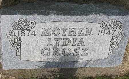 GROSZ, LYDIA - Hutchinson County, South Dakota | LYDIA GROSZ - South Dakota Gravestone Photos