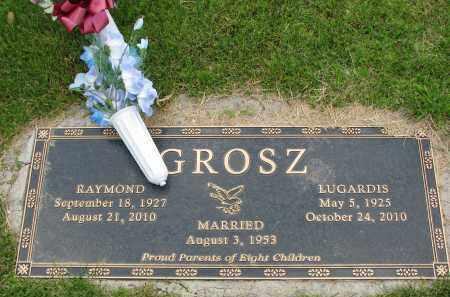 GROSZ, RAYMOND - Hutchinson County, South Dakota | RAYMOND GROSZ - South Dakota Gravestone Photos