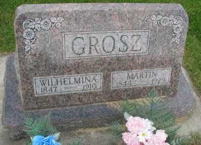 GROSZ, WILHELMINA - Hutchinson County, South Dakota | WILHELMINA GROSZ - South Dakota Gravestone Photos