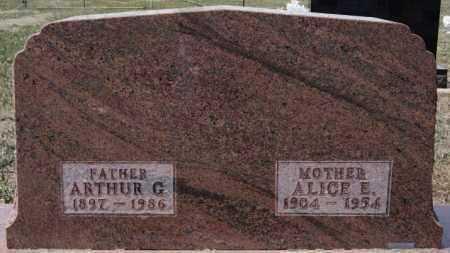 GUERICKE, ALICE E - Hutchinson County, South Dakota | ALICE E GUERICKE - South Dakota Gravestone Photos
