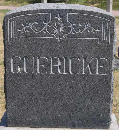 GUERICKE, FAMILY MARKER - Hutchinson County, South Dakota | FAMILY MARKER GUERICKE - South Dakota Gravestone Photos