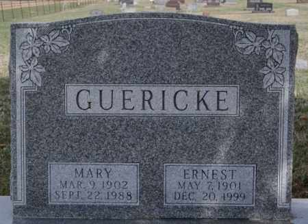 GUERICKE, MARY - Hutchinson County, South Dakota | MARY GUERICKE - South Dakota Gravestone Photos