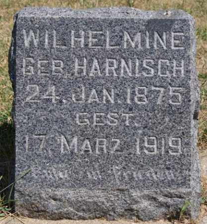 HARNISCH GUERICKE, WILHELMINE - Hutchinson County, South Dakota | WILHELMINE HARNISCH GUERICKE - South Dakota Gravestone Photos