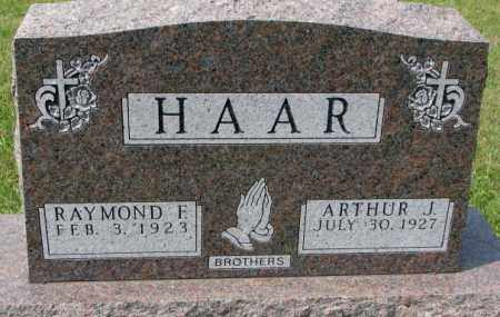 HAAR, RAYMOND F - Hutchinson County, South Dakota | RAYMOND F HAAR - South Dakota Gravestone Photos
