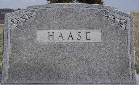 HAASE, FAMILY MARKER - Hutchinson County, South Dakota | FAMILY MARKER HAASE - South Dakota Gravestone Photos