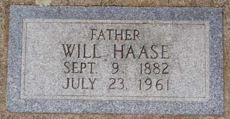 HAASE, WILL - Hutchinson County, South Dakota | WILL HAASE - South Dakota Gravestone Photos