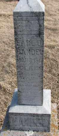 HANDEL, EARL D. - Hutchinson County, South Dakota | EARL D. HANDEL - South Dakota Gravestone Photos