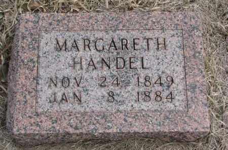 HANDEL, MARGARETH - Hutchinson County, South Dakota | MARGARETH HANDEL - South Dakota Gravestone Photos