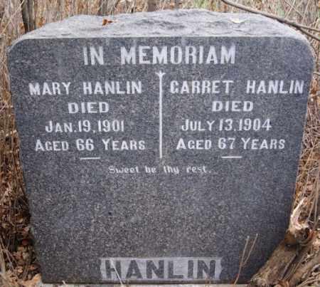 HANLIN, MARY - Hutchinson County, South Dakota   MARY HANLIN - South Dakota Gravestone Photos