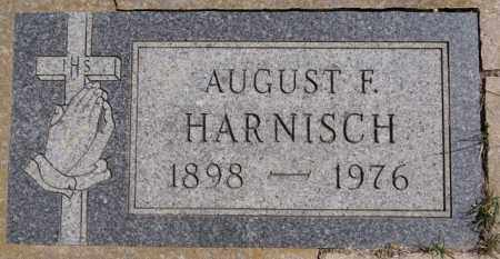 HARNISCH, AUGUST F - Hutchinson County, South Dakota | AUGUST F HARNISCH - South Dakota Gravestone Photos