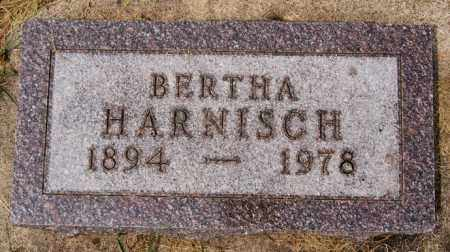 HARNISCH, BERTHA - Hutchinson County, South Dakota | BERTHA HARNISCH - South Dakota Gravestone Photos