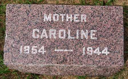 HARNISCH, CAROLINE - Hutchinson County, South Dakota | CAROLINE HARNISCH - South Dakota Gravestone Photos